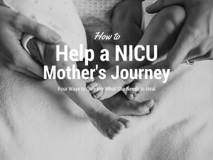 NICU baby feet
