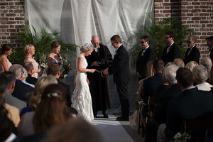 wedding at historic rice mill