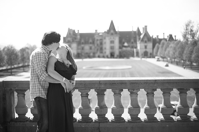 engagement at Biltmore House