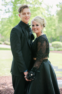 guy and girl going to prom