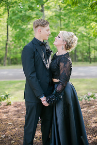 guy and girl ready for prom
