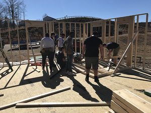 NC Carpentry Class completes House during Spring Semester