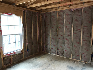 Living Water Lane New Construction Insulation