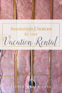 What to think about when installing Insulation in New Construction